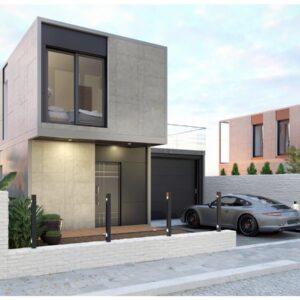 Modularna kuća: Kvadra iQ80, prizemnica, 83.00 m2
